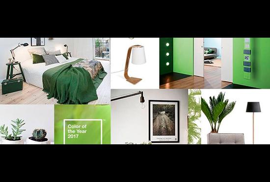 El verde es el color del 2017 según Pantone