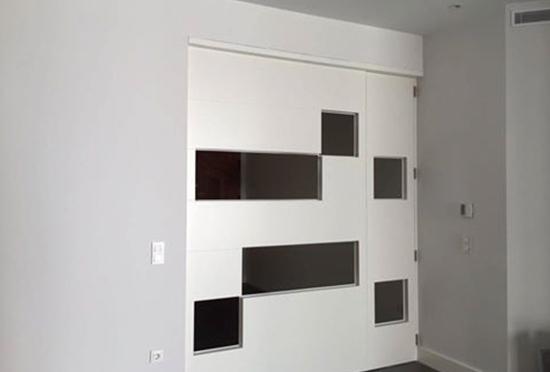 Separa las estancias de tu casa con puertas correderas