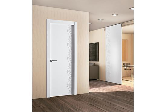 Gana luminosidad y amplitud en tu hogar con la nueva serie de puertas lacadas